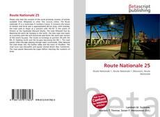 Route Nationale 25 kitap kapağı