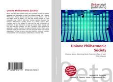 Portada del libro de Unione Philharmonic Society