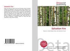 Buchcover von Salvation Fire
