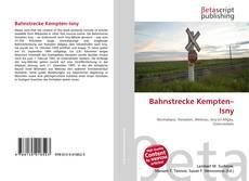 Bahnstrecke Kempten–Isny kitap kapağı