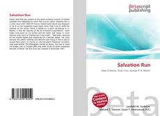 Buchcover von Salvation Run