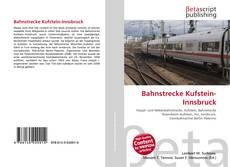Couverture de Bahnstrecke Kufstein-Innsbruck