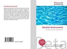 Bookcover of Ratchet (Instrument)