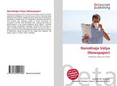 Portada del libro de Narodnaja Volya (Newspaper)