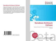 Capa do livro de Narodowe Archiwum Cyfrowe