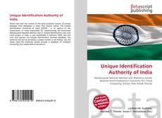 Bookcover of Unique Identification Authority of India