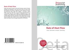 Обложка Rate of Heat Flow
