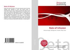 Bookcover of Rate of Infusion