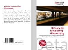 Copertina di Bahnstrecke Lauterbourg–Wissembourg