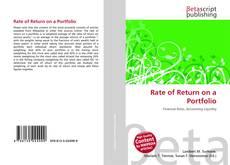 Couverture de Rate of Return on a Portfolio