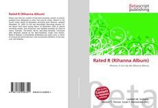 Capa do livro de Rated R (Rihanna Album)