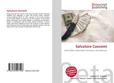 Bookcover of Salvatore Cancemi