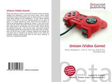 Capa do livro de Unison (Video Game)