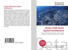 Bookcover of Unisys 2200 Series System Architecture