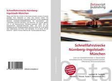 Buchcover von Schnellfahrstrecke Nürnberg–Ingolstadt–München