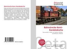 Capa do livro de Bahnstrecke Kemi–Kandalakscha