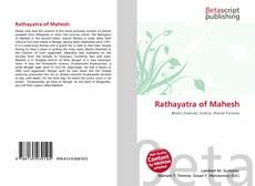 Portada del libro de Rathayatra of Mahesh
