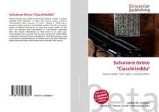 """Salvatore Greco """"Ciaschiteddu"""" kitap kapağı"""