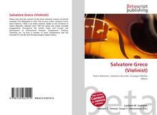 Buchcover von Salvatore Greco (Violinist)
