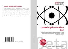 Buchcover von United Against Nuclear Iran