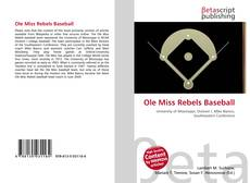 Buchcover von Ole Miss Rebels Baseball