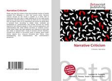 Bookcover of Narrative Criticism