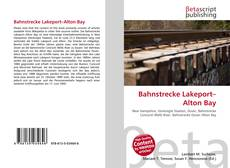 Bookcover of Bahnstrecke Lakeport–Alton Bay