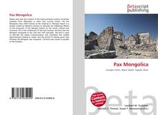 Bookcover of Pax Mongolica