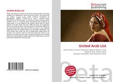 Bookcover of United Arab List
