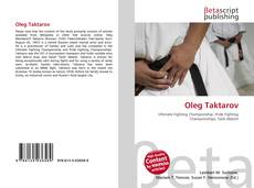 Bookcover of Oleg Taktarov