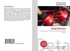 Buchcover von Oleg Maskaev