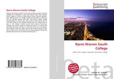 Bookcover of Narre Warren South College