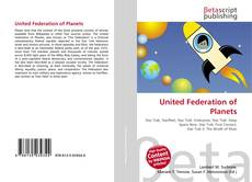 Bookcover of United Federation of Planets