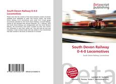 Capa do livro de South Devon Railway 0-4-0 Locomotives