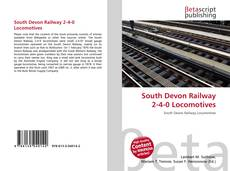 Capa do livro de South Devon Railway 2-4-0 Locomotives