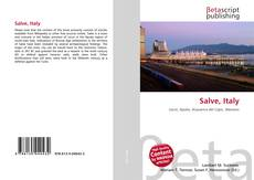 Bookcover of Salve, Italy