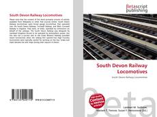 Buchcover von South Devon Railway Locomotives