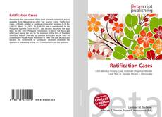 Capa do livro de Ratification Cases