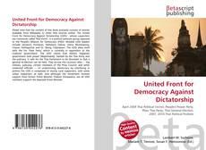 Couverture de United Front for Democracy Against Dictatorship