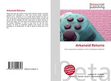 Bookcover of Arkanoid Returns