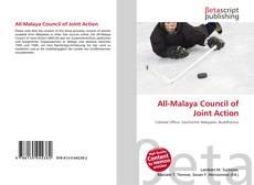 Capa do livro de All-Malaya Council of Joint Action