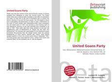 United Goans Party kitap kapağı