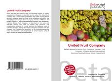 Bookcover of United Fruit Company