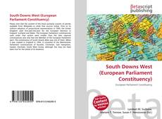 Bookcover of South Downs West (European Parliament Constituency)