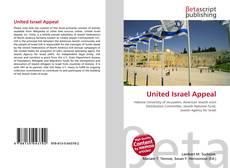 United Israel Appeal kitap kapağı