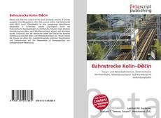Bookcover of Bahnstrecke Kolín–Děčín