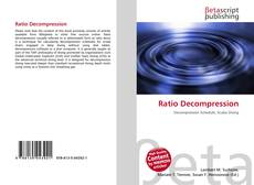 Bookcover of Ratio Decompression