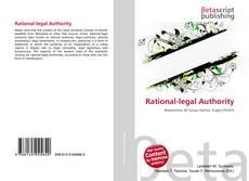 Portada del libro de Rational-legal Authority