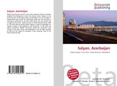 Capa do livro de Salyan, Azerbaijan