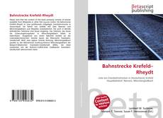 Portada del libro de Bahnstrecke Krefeld–Rheydt